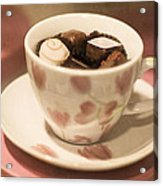 Cup Of Chocolate Acrylic Print
