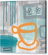Cup Of Happiness Acrylic Print