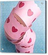 Cupcake Love Acrylic Print