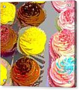 Cupcake Suite Acrylic Print