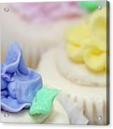 Cupcakes Shallow Depth Of Field Acrylic Print