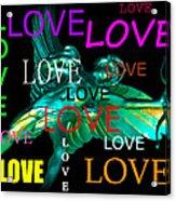 Cupids Love Acrylic Print