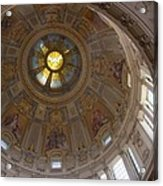 Cupola Berliner Dom Acrylic Print