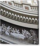 Cupola Border - Capitol Washington Dc Acrylic Print