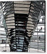 Cupola Reichstag Building II Acrylic Print
