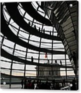 Cupola Reichstags Building Berlin Acrylic Print