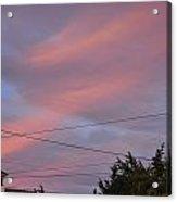 Cupola Sunset Acrylic Print