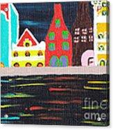 Curacao Blue  Acrylic Print