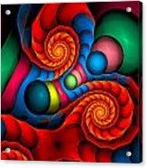 Curbisme-103 Acrylic Print