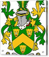 Curdy Coat Of Arms Irish Acrylic Print