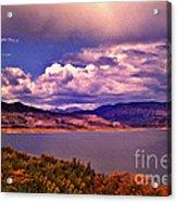 Curecanti Autumn Blue Mesa Colorado Acrylic Print