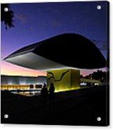 Curitiba - Museu Oscar Niemeyer Acrylic Print