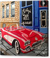 Curley's Corvette Acrylic Print
