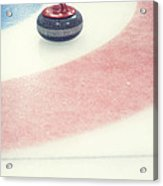 Curling Stone In A Distance Acrylic Print