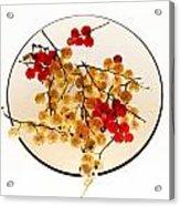 Currants On A Plate Acrylic Print