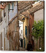 Currruca Slope In Calahorra Acrylic Print