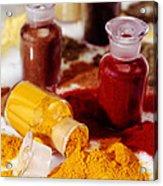 Curry Powder Acrylic Print