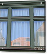 Curtained Reflection Acrylic Print