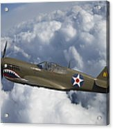 Curtiss P-40 Warhawk Flying Tigers Acrylic Print