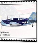 Curtiss Wright Sb2c-5 Helldiver Acrylic Print