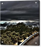 Curve On The Road To Heaven  Acrylic Print
