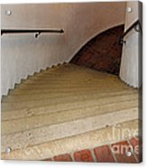 Curved Stairway At Brandywine River Museum Acrylic Print