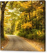 Curves Ahead Acrylic Print by Scott Norris