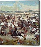Custer's Last Charge Acrylic Print