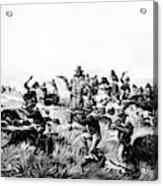 Custer's Last Fight, 1876 Acrylic Print