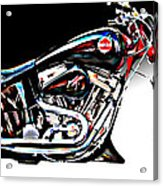Custom Bike Study 1 Acrylic Print