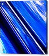 Custom Blue Paint Acrylic Print by Phil 'motography' Clark