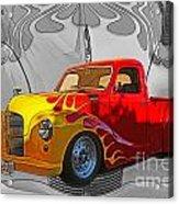 Custom Flames Acrylic Print