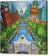 Custom Home Interiors - Ottawa Landmarks Acrylic Print
