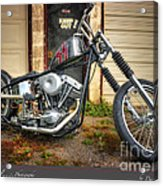 Custom Ride Acrylic Print