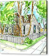 House Portrait Sample Acrylic Print