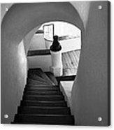 Custom Stairs To Heaven-dracula's Castle  Acrylic Print