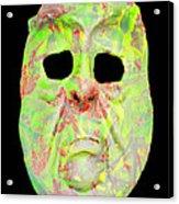 Cut Out Mask Acrylic Print