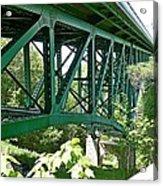 Cut River Bridge Near Epoufette Michigan Acrylic Print