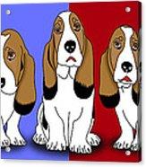 Cute Dogs 2 Acrylic Print