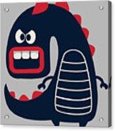 Cute Monster Vector Acrylic Print