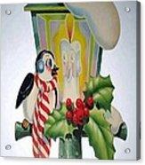 Cute Vintage Christmas Acrylic Print