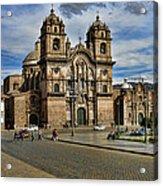Cuzco Church Acrylic Print