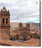 Cuzco Plaza Del Armas Acrylic Print