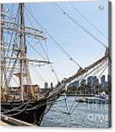 Cwm At The Boston Navy Yard Acrylic Print