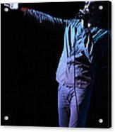 Cy Curnin - The Fixx - Vocalist Acrylic Print by Anthony Gordon Photography