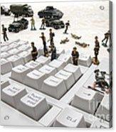 Cyber Attack Acrylic Print