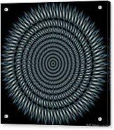 Cyborg Mandala Acrylic Print