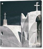 Cycladen Crosses Acrylic Print