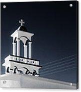 Cyclades Greece - Andros Island Church Acrylic Print