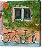 Cycle Cafe Acrylic Print
